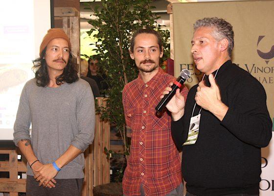 Foto com Lucas e Gustavo